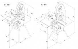 KT-325 Bandsaw