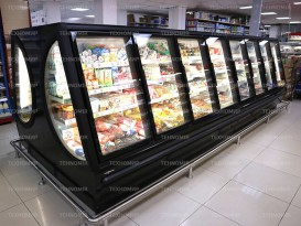 Морозильные шкафы TectoFreeze отправились в Омск