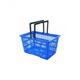 Пластиковая корзина покупательская К-SUPERMARKET