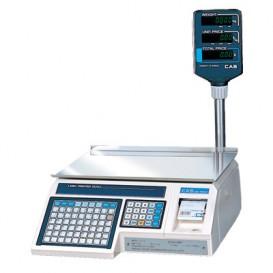Торговые весы с печатью этикеток CAS LP-06R (v.1.6)