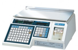 Торговые весы с печатью этикеток CAS LP-15 (v.1.6)